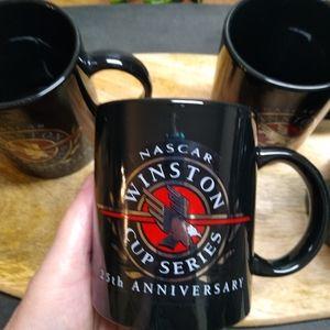 NASCAR Winston Cup Series 25th mugs